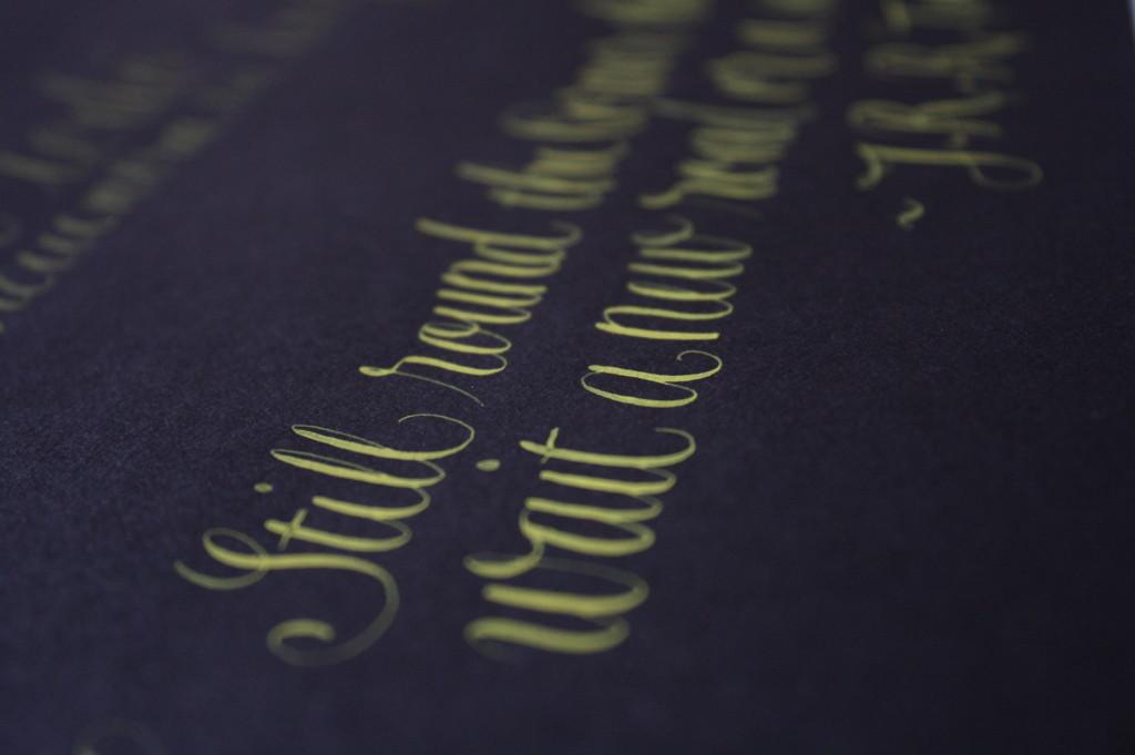 caligrafía copperplate