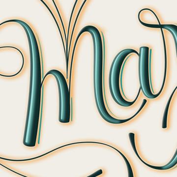 lettering Marianna Rezk